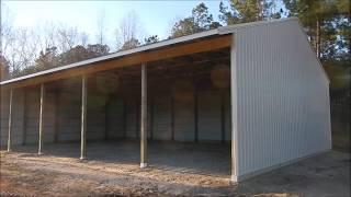 5 Day Pole Barn Build