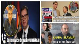Milan Dumanović, Ljubomir Stevanović, Miroslav Parović o vezama Vučića sa Veljom Nevoljom - Specijal