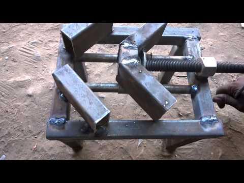 Fabrication Mechanical Mini Project Conveyor Belt