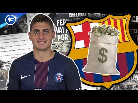 Le Barça sort le chéquier pour Verratti | Revue de presse