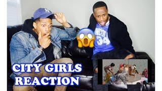 City Girls - Twerk ft. Cardi B (Official Music Video) REACTION