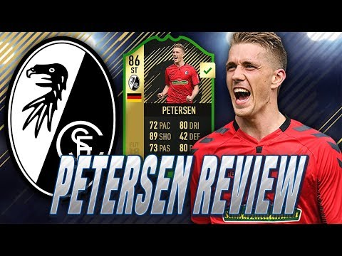 FIFA 18 - INFORM PETERSEN (86) PLAYER REVIEW - WORST CARD ON THE GAME?