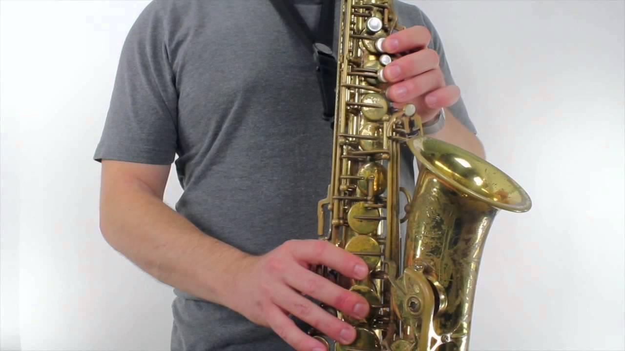 careless whisper alto sax