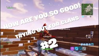 I Tried Out For 5 More Clans and They All ACCEPTED Me - #2 -Fortnite Battle Royale