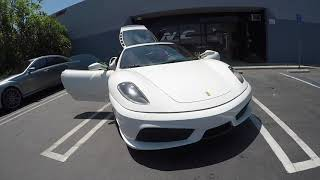 MODIFIED  FERRARI F430 SCUDERIA CONVERSION & AIR SUSPENSION
