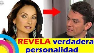Elizabeth Álvarez REVELA VERDADERA PESONALIDAD de Jorge Salinas