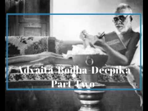 ADVAITA-BODHA-DEEPIKA - PART 2 / Greatly Revered by Ramana Maharshi  - audiobook lomakayu