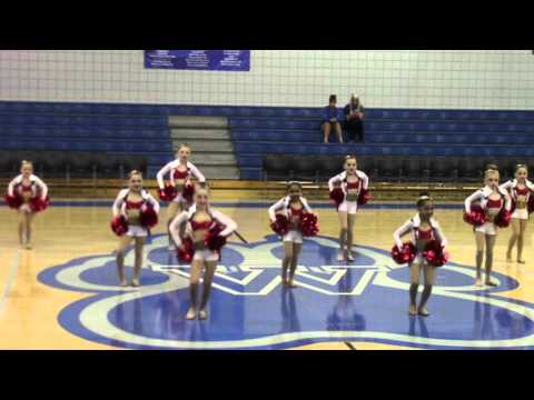 Elementary Pom Large Ensemble, Dancin Bluebonnents