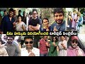 Top Tollywood Star Heroes Vote Polling Center AT Telangana Assembly 2018 Elections   Cinema Politics