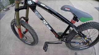 URBAN FREERIDE - HARDCORE HARDTAIL - HUCKING STAIRS! MONSTER T's!
