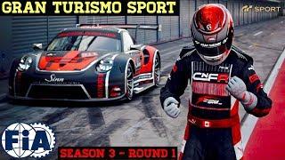 GT Sport - FIA Manufacturer - Season 3 - Round 1
