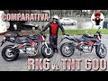 Review Comparativa Benelli TNT 600 y Keeway Rk6