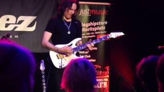 STEVE VAI workshop Berlin-Germany- 31.03.2014