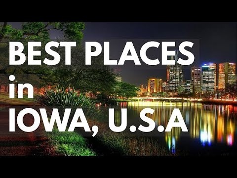 Best Places to Visit | USA Iowa