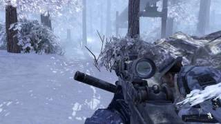 Call of Duty: Modern Warfare 2 - Sniper Action with Cpt. Price [HD]
