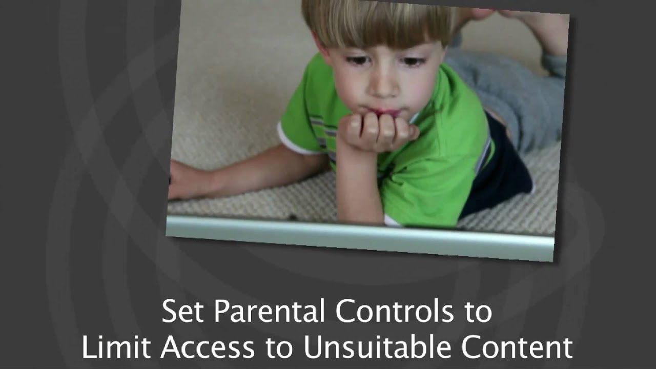 How to parental lock youtube