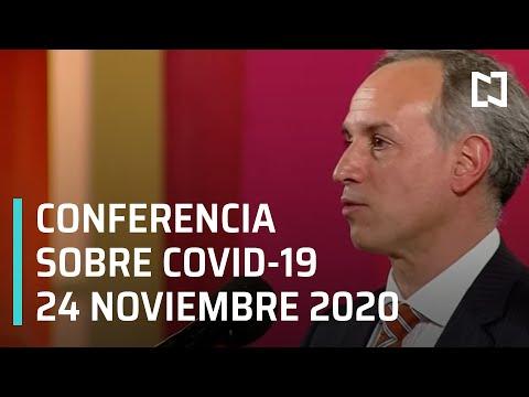 Conferencia Covid-19 en México - 24 noviembre 2020