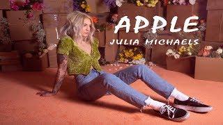 Gambar cover Julia Michaels -  Apple (Lyrics Video)