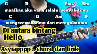 Chord Gitar Di Antara Bintang Hello | Tutorial Gitar By Darmawan Gitar