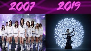 EVOLUTION OF SNSD Girls' Generation (2007-2019) (Happy 12th Anniversary)