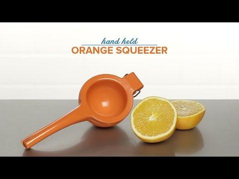 Hand Held Squeezer Orange