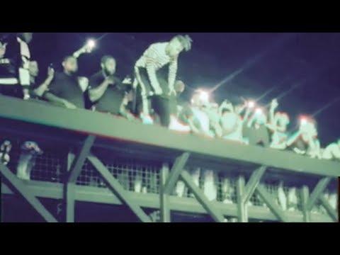 XXXTENTACION DEATH defying JUMP at his Concert in Broward County!!!!