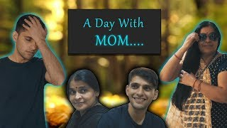 Download Video A Day With MOM.... | Indian Mom | Funcho Entertainment MP3 3GP MP4