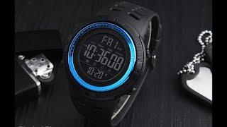[UNBOXING] SKMEI 1251 Mens Sports Watch - CRYSTAL BLUE (Gearbest) VFM!!!