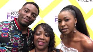 JV Jones interviewed Woody McClain and Gabrielle Dennis of Bobby Brown Story