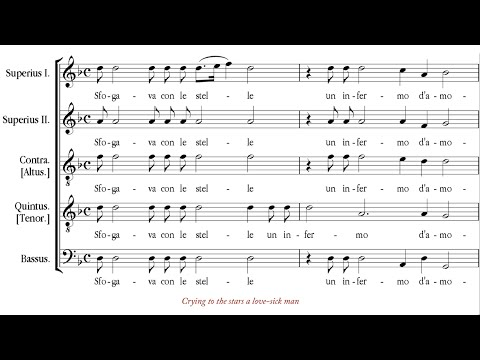 Монтеверди Клаудио - Sfogava con le stelle