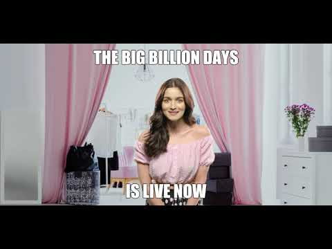 Alia's Giving You A Reminder. | The Big Billion Days Are Back