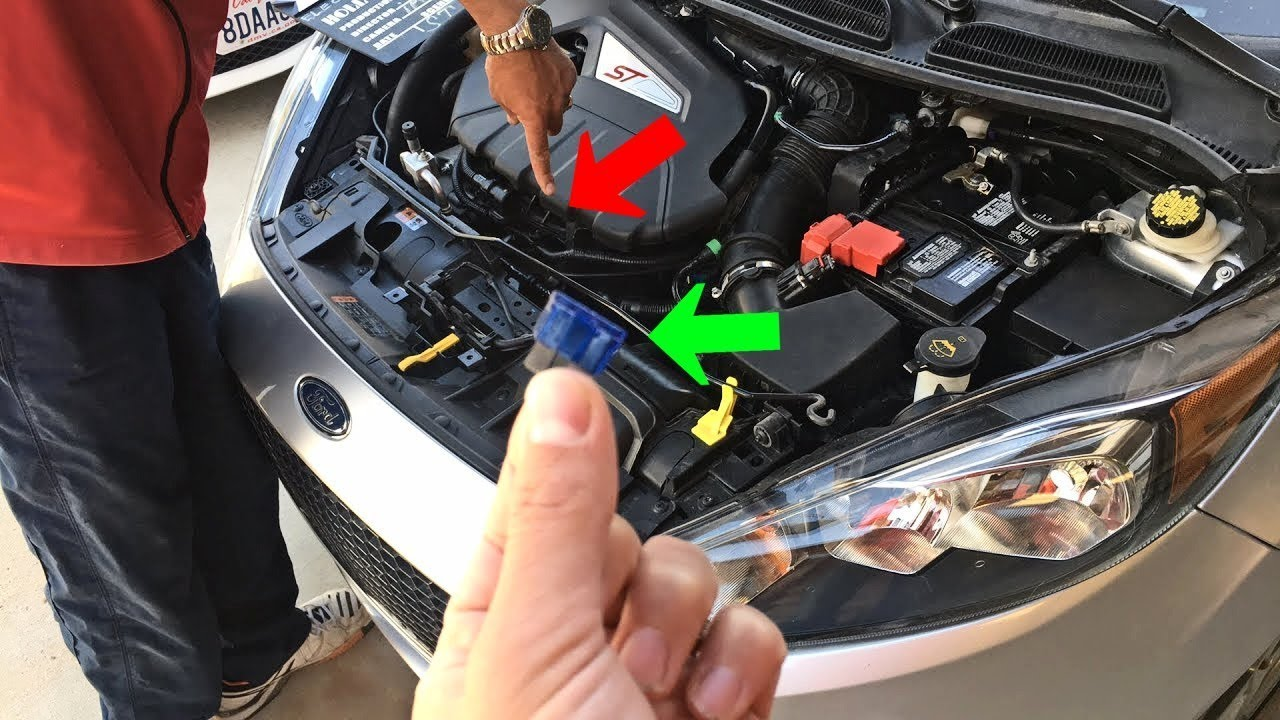 Ford Fiesta Overheating Radiator Fan Fuse Replacement Mk7 Youtube 2009 Focus Engine Diagram Los Angeles