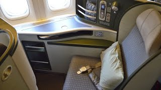 eva air royal laurel class osaka kansai to taipei on the boeing 777 300er