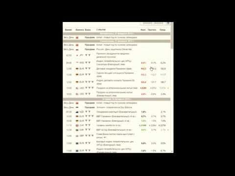 xCritical экономический календарь
