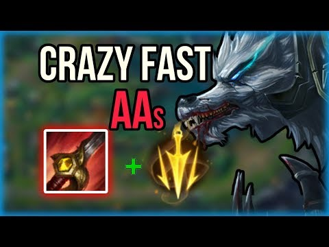 Bloodrazor Lethal Tempo Warwick Jungle! - Warwick Jungle Commentary Guide - League of Legends