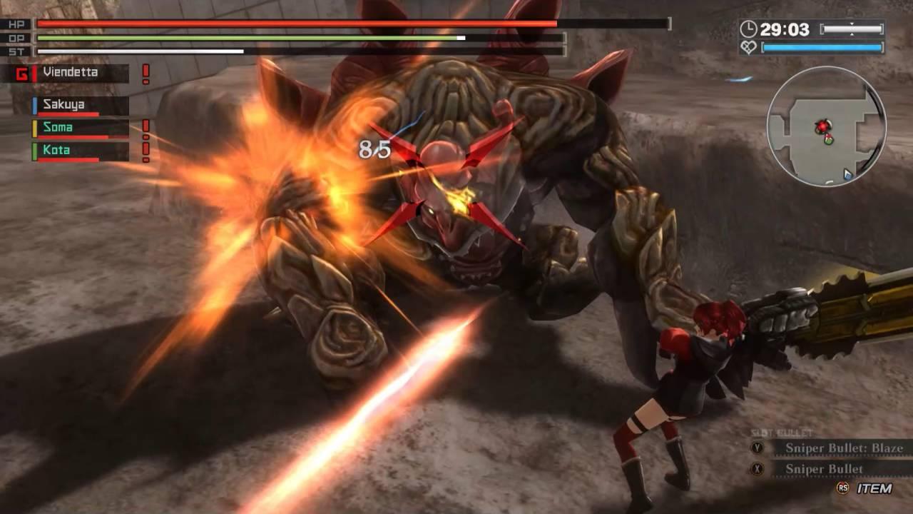 God Eater Resurrection] Gameplay PC - YouTube