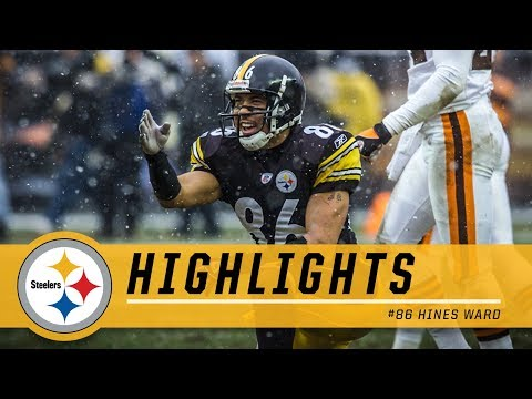 Hines Ward's Top Plays | Pittsburgh Steelers