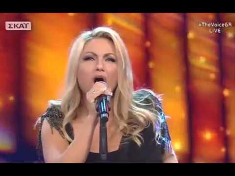 """Ελπίδα Πράμας: """"As long as there is you""""  2o    The Voice of Greece"""