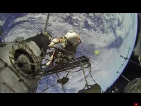 Live Space walk with UFOs