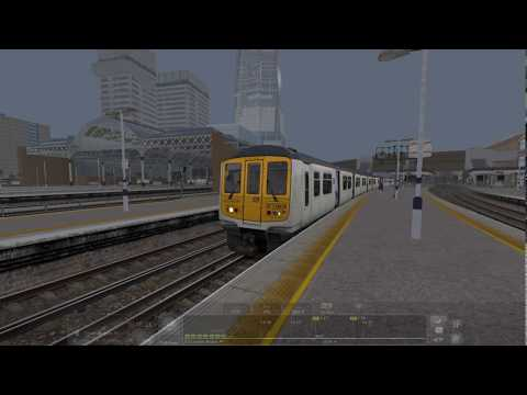 AP Class 319 | St Pancras International to London Bridge | Train Simulator 2019 |