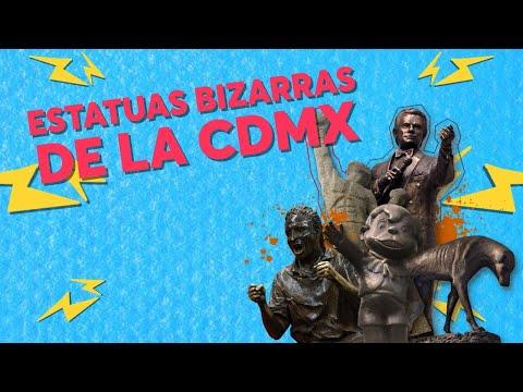¿Conoces estas 5 estatuas bizarras de la CDMX? | CHILANGO