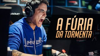 Repeat youtube video A FÚRIA DA TORMENTA ♫ | Pato Papão & Mano Yi (Prod. by Feelo)