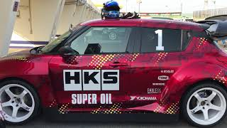 谷口信輝 HKS TRB-04(スイフト) in TC2000  ①   by TM-SQUARE TV