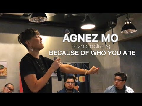 AGNEZ MO - Sharing & Singing BECAUSE OF WHO YOU ARE (Grand Opening The Boxes)