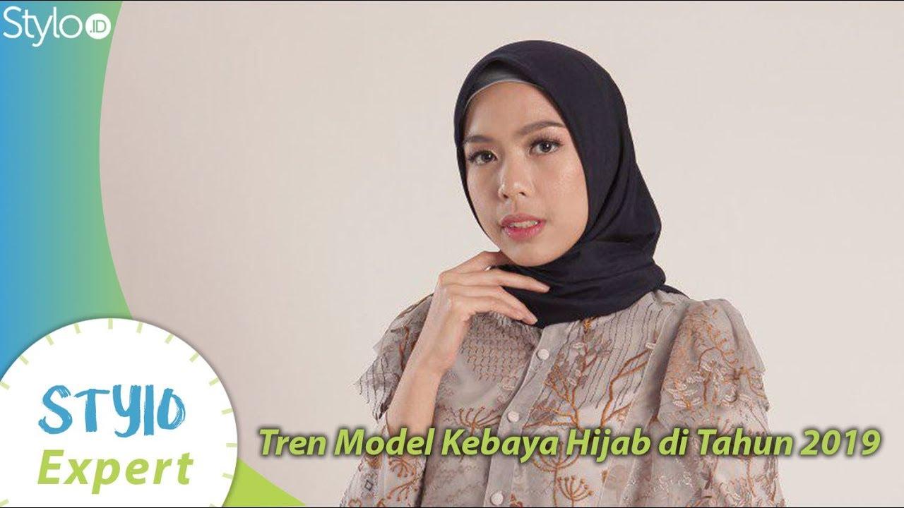 Tren Model Kebaya Hijab Tahun 2019 Untuk Kondangan Wisuda Acara