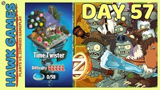 Plants vs Zombies 2 Time Twister World Day 57 [Player's Choice]