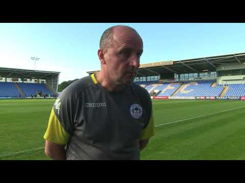 REACTION: Paul Cook on Wigan Athletic's 1-0 defeat at Shrewsbury Town
