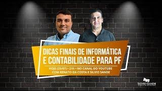 Dicas Finais para Polícia Federal com Renato da Costa e Silvio Sande