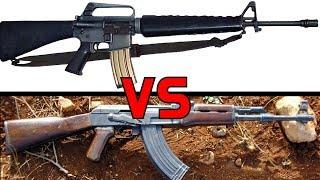[M16 vs AK47] 어떤 총이 더 훌륭한 총일까?