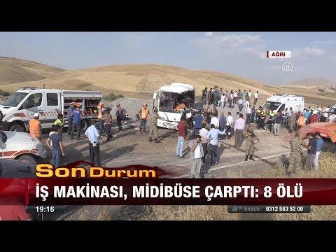 Ağrı'da feci kaza: 8 ölü! - 14 Ağustos 2017